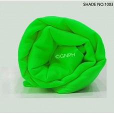 5.5 M PARROT GREEN TURBAN