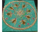HAND EMBROIDED PURE SILK RUMALA SAHIB