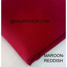 MAROON REDDISH TURBAN